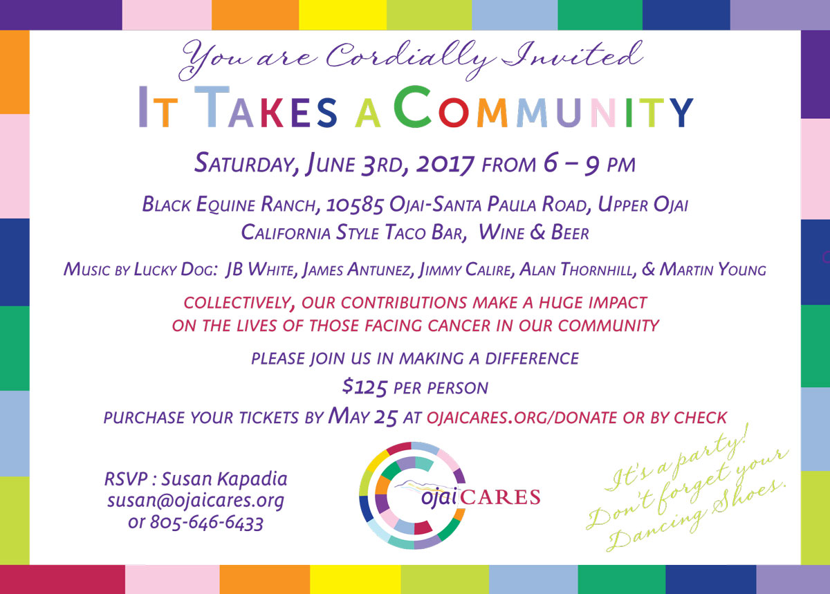 It Takes A Community – Fundraiser
